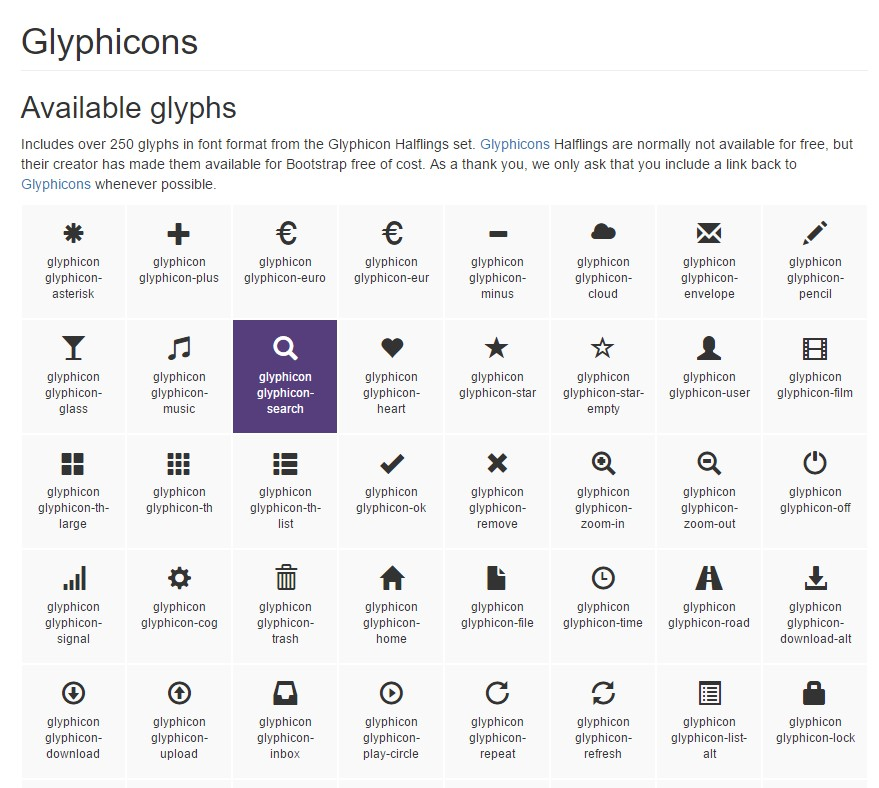 Bootstrap Icons  authoritative  information