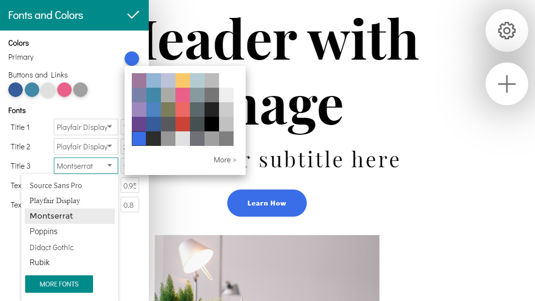Drag and Drop Site Creator