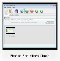 Add Youtube Video to Website bbcode for vimeo phpbb