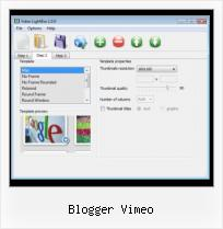 Embed Mov Video HTML blogger vimeo