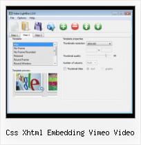 Embed Youtube Video in Gmail css xhtml embedding vimeo video