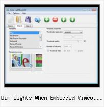 Insert Video HTML Help dim lights when embedded vimeo plays