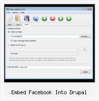 Ie6 SWFobject embed facebook into drupal