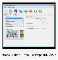 Embedded Myspace Video embed vimeo into powerpoint 2007