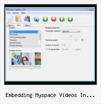 How to Add Matcafe Video embedding myspace videos in wordpress
