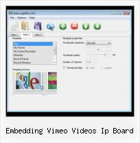Vimeo Embed Rounded Corners embedding vimeo videos ip board