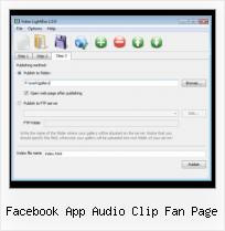 SWFobject Movie Not Loaded facebook app audio clip fan page