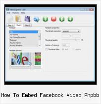 Wordpress Lightbox Video how to embed facebook video phpbb