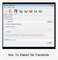 SWF to HTML Code how to embed hd facebook