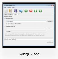 Youtube Video HTML Generator jquery vimeo