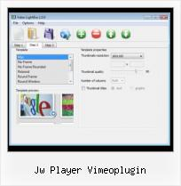 Add Live Video to Website jw player vimeoplugin