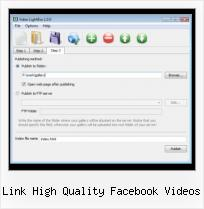 Slimbox With Video link high quality facebook videos