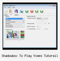 How to Embed Matcafe in Blog shadowbox to play vimeo tutorail