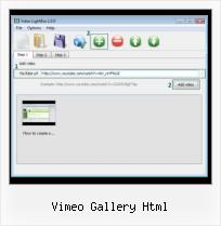 How to Insert A Video From Youtube vimeo gallery html