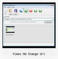 Using Flashvars With SWFobject vimeo hd change url