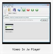 Can You Embed Vimeo Into Imovie vimeo in jw player