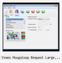 Javascript Video Preview vimeo moogaloop request large thumbnail oembed
