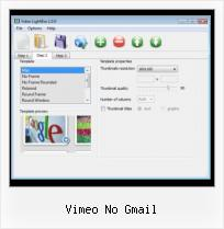 Video HTML For Blogs vimeo no gmail