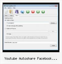 Myspace HTML Video Quicktime youtube autoshare facebook bandprofil